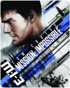 Mission Impossible III 4K Ultra HD (avec Version 2D) - Steelbook Exclusif Limité pour Zavvi (Édition UK)