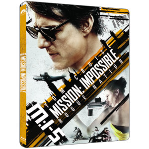 Mission Impossible Rogue Nation - 4K Ultra HD - Limited Edition Steelbook