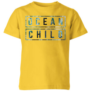My Little Rascal Ocean Child Kids' T-Shirt - Yellow