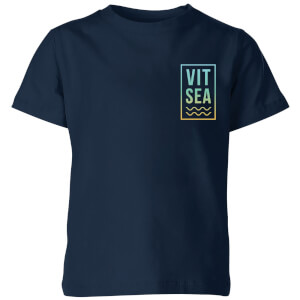 My Little Rascal Vitamin Sea Kids' T-Shirt - Navy