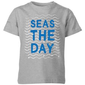 My Little Rascal Seas The Day Kids' T-Shirt - Grey