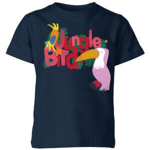 My Little Rascal Jungle Bird Kids' T-Shirt - Navy