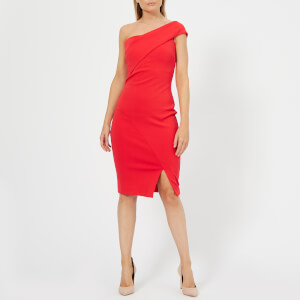 Ted Baker Women's Areena One Sleeve Bardot Dress - Red