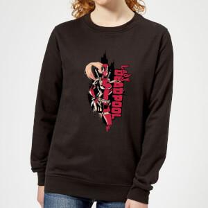 Marvel Deadpool Lady Deadpool Women's Sweatshirt - Black