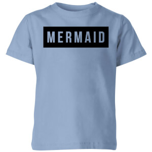 My Little Rascal Mermaid - Baby Blue Kids' T-Shirt - Royal Blue