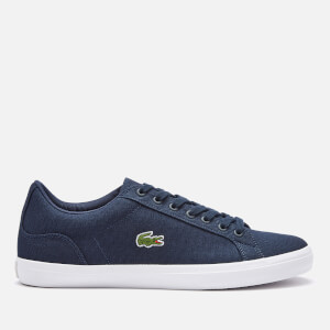 Lacoste Men's Lerond Bl 2 Canvas Trainers - Navy