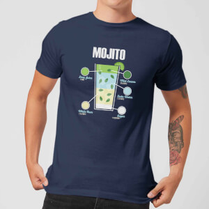 Mojito Men's T-Shirt - Navy