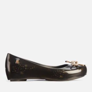 Mini Melissa Kids' Ultragirl Elements Ballet Flats - Black