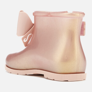 Mini Melissa Toddlers' Sugar Rain Fairy Boots - Rose Gold: Image 3