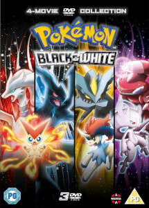 Pokémon Movie 14-16 Collection - Black & White