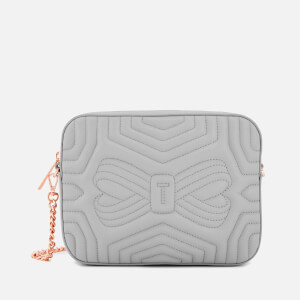 Ted Baker Women's Sunshine Quilted Camera Bag - Charcoal