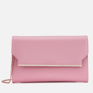 Ted Baker Women's Miiaa Crystal Bar Clutch Bag - Dusky Pink
