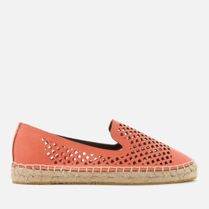 Superdry Women's Cecelia Slip On Espadrilles - Flame Coral
