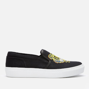 KENZO Women's K-Skate Tiger Slip-On Trainers - Black