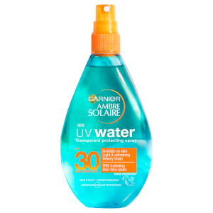Ambre Solaire UV Water Aloe Vera Clear Sun Cream Spray SPF30 150ml