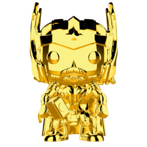 Marvel MS 10 Thor Gold Chrome Pop! Vinyl Bobblehead Figure