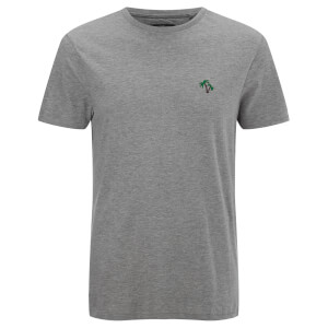 Threadbare Men's Forks T-Shirt - Grey Marl