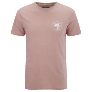 Threadbare Men's Venice Beach T-Shirt - Blush Pink Marl