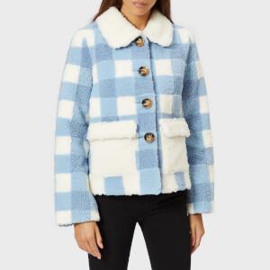 Saks Potts Women's Lucy Baby Blue Jacket - Blue