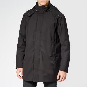 Emporio Armani Men's Trench Coat - Nero
