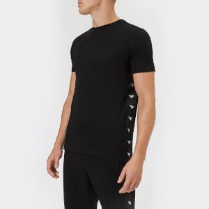Emporio Armani Men's Tape Detail T-Shirt - Nero