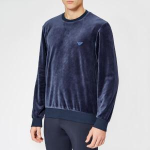 Emporio Armani Men's Sweatshirt - Blue