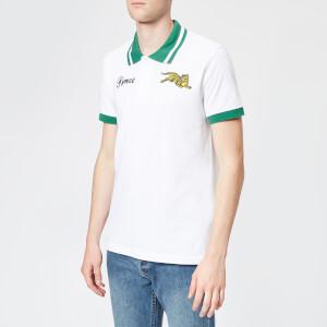 KENZO Men's Tiger Short Sleeve Polo Shirt - White