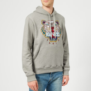 KENZO Men's Classic Tiger Hoody - Dove Grey