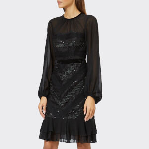 Three Floor Women's Diamond Dress - Black