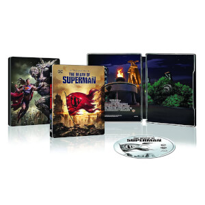 Death Of Superman - Steelbook Exclusif Limité pour Zavvi