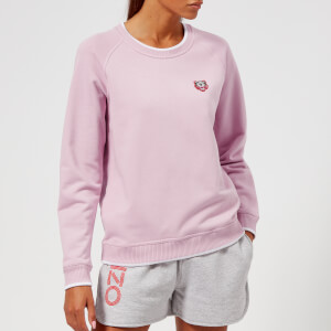 KENZO Women's Light Cotton Molleton Sweatshirt - Pink