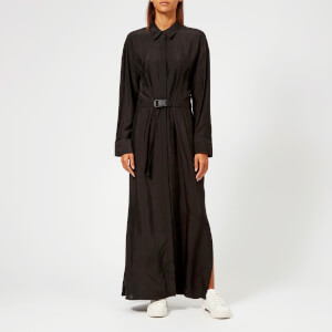 KENZO Women's Viscose Jacquard Long Dress - Black