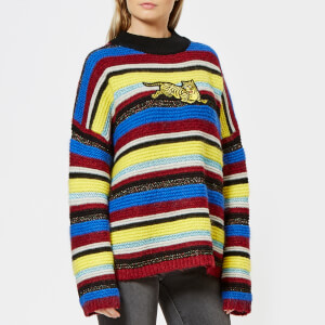 KENZO Women's Jumping Tiger Sweater - Multi