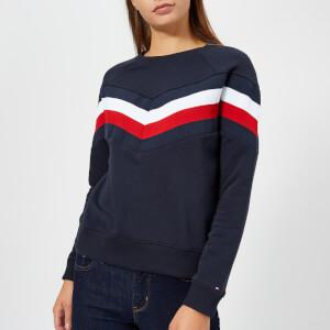 Tommy Hilfiger Women's Faith Crew Neck Sweatshirt - Navy