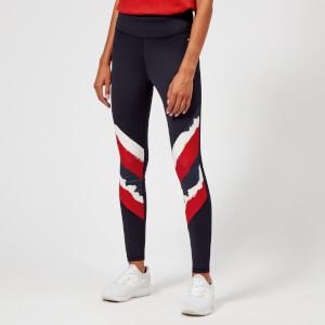 Tommy Hilfiger Women's Athleisure Elana Leggings - Navy/Red