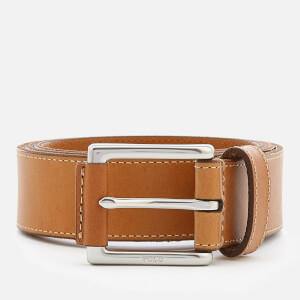 Polo Ralph Lauren Men's Casual Leather Belt - Tan