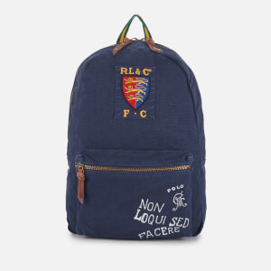 Polo Ralph Lauren Men's Canvas Logo Backpack - Navy