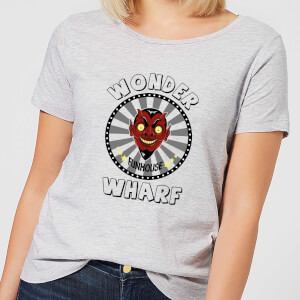 Bobs Burgers Wonder Wharf Fun House Damen T-Shirt - Grau