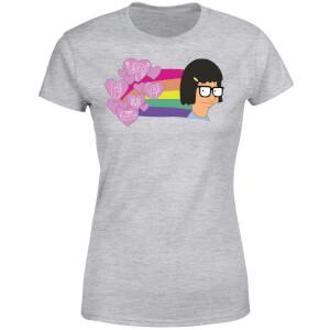 Bobs Burgers Tina's Thoughts Women's T-Shirt - Grey