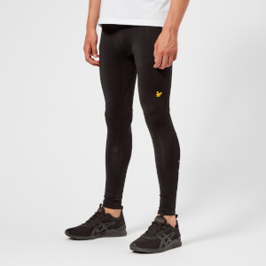 Lyle & Scott Sportswear Men's Ultra Tech Running Tights - True Black