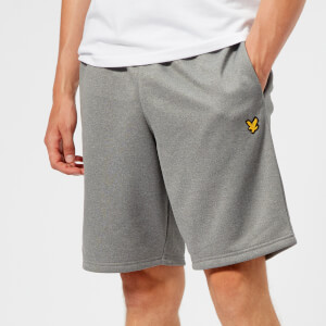 Lyle & Scott Sportswear Men's Randall Fleece Shorts - Mid Grey Marl