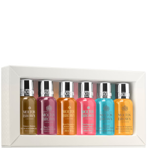 Molton Brown Eminent Explorations Bath and Shower Collection 6 x 30ml