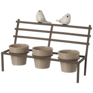 Parlane Birds Bench Planter