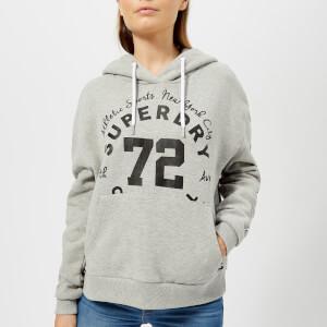 Superdry Women's Oversize Urban Hoody - Sport Code Grey Marl