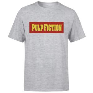 Pulp Fiction Logo Men's T-Shirt - Grey