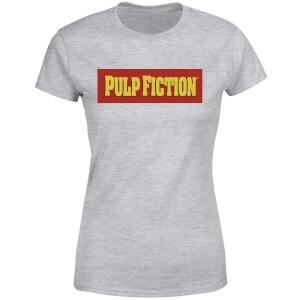 Pulp Fiction Logo Women's T-Shirt - Grey