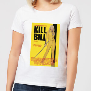 Kill Bill Poster Damen T-Shirt - Weiß