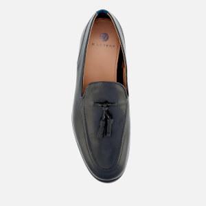 Hudson London Men's Aylsham Leather Tassle Loafers - Black: Image 3