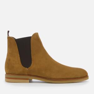Hudson London Men's Adlington Suede Chelsea Boots - Camel: Image 1