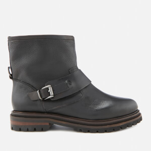 2e798a4e5b193f Hudson London Women s Sence Leather Biker Boots - Black